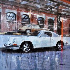 Markus Haub Martini Porsche Edition auf Leinwand 80 x 100 cm ab 380,00 € http://www.artfan.de ...
