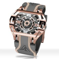 Automatic rose gold watch Wryst Racer Wear a bolder and tactile luxury Swiss timepiece. Surpass your style with a modern and luxurious limited edition automatic rose gold watch. Swiss Luxury Watches, Swiss Army Watches, Luxury Watches For Men, Sport Watches, Cool Watches, Wrist Watches, Pocket Watches, Mens Rose Gold Watch, Skeleton Watches