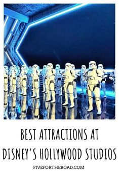 12 Best Attractions at Hollywood Studios | Family of Five Family Travel Disney World Theme Parks, Disney World Planning, Walt Disney World Vacations, Disney Junior, Disney S, Star Tours, Tower Of Terror, Disney World Tips And Tricks, Hollywood Studios
