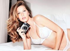 The supermodel launched a lingerie line in her native Brazil last year, and just posted a sexy behind-the-scenes look at the new campaign for Gisele Bündchen Intimates.  The line, which is available in Brazil, Europe and South America, features sexy underpinnings in a range of styles.  Photo: @giselebundchenintimates/Instagram The supermodel's collection, priced at $26 for a satin g-string panty to $101 for a lace and tulle bra, is a little more expensive than the pieces she modeled as an…