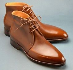 Handmade Mens fashion Tan color Chukka boots Men tan leather lace up ankle boots · Rangoli Collection · Online Store Powered by Storenvy Chukka Shoes, Leather Chukka Boots, Suede Leather Shoes, Leather And Lace, Tan Leather, Lace Up Ankle Boots, Shoe Boots, Ankle Shoes, Oxfords