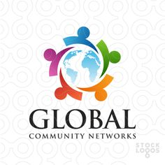Exclusive Customizable Logo For Sale: Global Community Networks