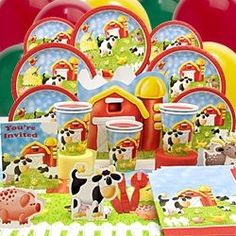 Add a little yee-haw to your event by throwing an Old MacDonald, barnyard or farm animal inspired baby shower! So many party supply stores and...
