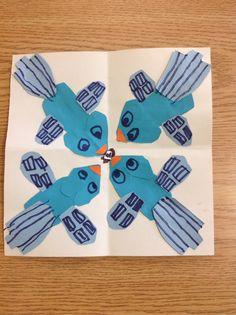 Charley Harper- geometric and symmetry