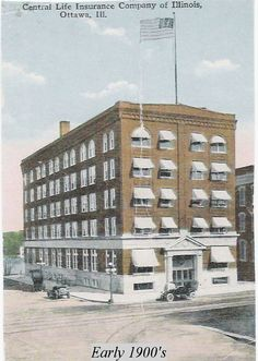 Clifton Hotel Postcard Ottawa Il My Hometown Pinterest Hotels And Postcards