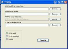 Programa para convertir XML a PDF Automatico-Facturacion Electronica2013-2014