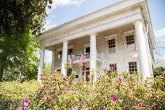 """Georgia's Antebellum Trail on Instagram: """"It is said that in the late 1800's a woman flung herself off of the balcony of this Greek Revival home in @visiteatonton after learning of…"""""""