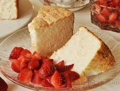 Angel Food Cake.....a challenge I will take :-)