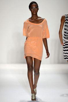 #FashionWeek #JustFab Adorable salmon color, so cute!