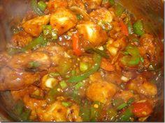 Chinese Chili Chicken Recipe (By Shireen Anwar)