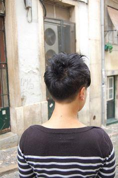 Cool Pixie Back View Fryzury W 2019 Undercut Pixie Haircut