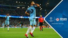 Melhores Momentos - Manchester City 4 x 0 B. M'Gladbach - Champions Leag...