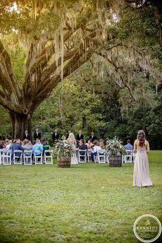 Eden Gardens State Park, Oak tree, fall wedding, outdoor wedding ...