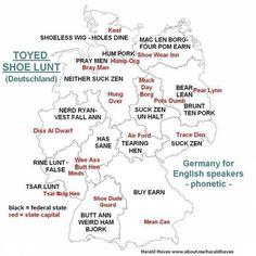 Ich meine, stell dir mal vor, du wärst ein Engländer in Deutschland. Schöne Scheiße.