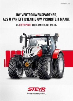 Steyr, New Holland, Land Rover Defender, Heavy Equipment, Farmall Tractors, Tractors, Vehicles