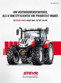 Steyr, New Holland, Land Rover Defender, Heavy Equipment, Farmall Tractors, Tractors, Vehicles, Landrover Defender