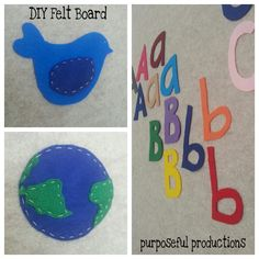 DIY Playroom Felt Board. LOVE it!!