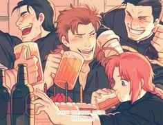 Gintama Manga Anime, Manga Art, Kamui Gintama, Breaking The Fourth Wall, Otaku Mode, Samurai, Okikagu, Marvel Funny, Doujinshi