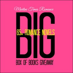 Martini Times Romance's BIG Box of Books Giveaway