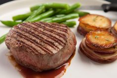No need to pay restaurant prices when you are craving a steak. Grill a few filets and serve with a port reduction for that fine dining feel right at home.