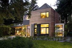 The Ellis Resident, a #LEED Platinum home on Bainbridge Island, WA designed by @coatesarchitect