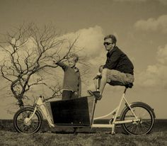 """Over 30 years ago in the car-free Copenhagen neighborhood of Christiana, Lars Enstrøm created his first """"boxcycle"""" by adding a big box to the front of his wife's bike. Since then he's improved the design and his Christiana bikes can now carry up to 100kg and come with a sturdy rain cover. Perfect for a city in which 36% of residents use bikes as their main mode of transport."""