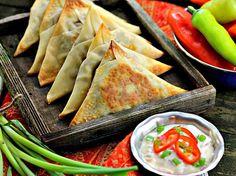 Spicy Vegetable Samosas