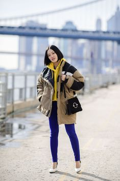 Colors. The Best Street Style at New York Fashion Week Fall 2018 - HarpersBAZAAR.com