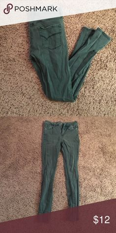Aqua colored skinny jeans. Skinny jeans Bullhead Jeans Skinny