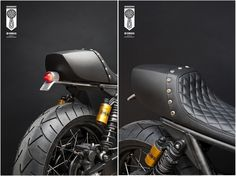 Cafe Racer, custom and classic motorcycles from around the globe. Featuring the world's top builders of custom motorcycles and Cafe Racers since Inazuma Cafe Racer, Yamaha Cafe Racer, Cafe Racer Helmet, Cafe Bike, Cafe Racer Build, Cafe Racer Motorcycle, Motorcycle Outfit, Cafe Racers, Motorcycle Girls
