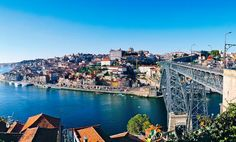 Oporto - Largest seaport city in Northern Portugal, gateway to the port wine region.