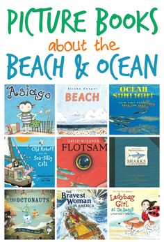 A great list of books to enjoy for summer about the beach and ocean from What Do We Do All Day?