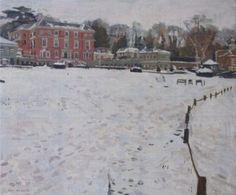Wooten Park, Epsom - Ken Howard RA, NEAC - Island Fine Arts