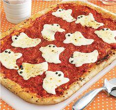 La Fiesta de Olivia | Decoración fiestas infantiles | Pizza para Halloween