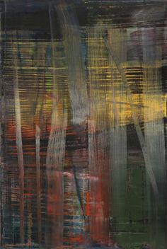 Gerhard Richter, Wald (Forêt), 2005. Huile sur toile, 197 cm x 132 cm. Catalogue Raisonné: 892-4. The Museum of Modern Art (MoMA), New York, États-Unis. Donation promise de Leonard et Susan Feinstein © 2017 Gerhard Richter