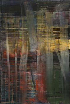 Gerhard Richter, Wald (Forêt), 2005. Huile sur toile, 197 cm x 132 cm. Catalogue Raisonné: 892-4. The Museum of Modern Art (MoMA), New York, États-Unis. Donation promise de Leonard et Susan Feinstein © 2017 Gerhard Richter