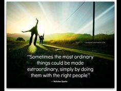 Sometimes the most ordinary things...