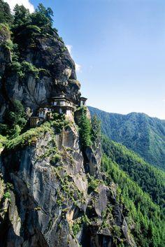 Taktsang Palphug Monastery, also known as The Tiger's Nest, Bhutan