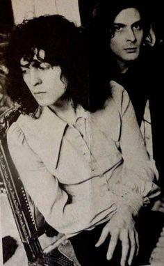 Marc Bolan & Mickey Finn youtubemusicsucks.com #marcbolan #trex #1970s…