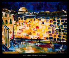 Jerusalem Wall www.thepaintbar.com