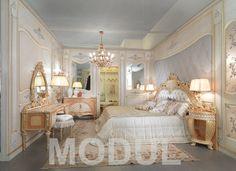 Комплект мебели для спальни в дворцовом стиле Fratelli Allievi