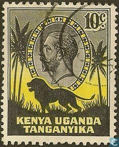 elf East Africa 10 Cents 1941 I  George VI Elephant WW2