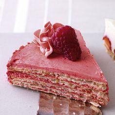 Himbeer-Schicht-Torte
