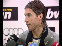 Youtube Real Madrid 3  Atletico de Madrid 1. Iker Sergio Ramos y Arbeloa en zona mixta