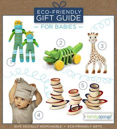 Christmas Gift Ideas  Family Sponge eco-friendly gifts that give Eco Baby a8162344d1