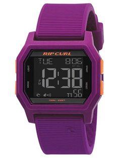Rip Curl Men's Atom Digital Digital Display Quartz Grey Watch Rip Curl, Casual Watches, Cool Watches, Watches For Men, Popular Watches, Surf Watch, Golf Gps Watch, Golf Pride Grips, Grey Watch