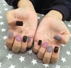 На доске nail art『simple style』 в 2019 г. Fancy Nails, Cute Nails, Pretty Nails, Hair And Nails, My Nails, Elegant Nail Art, Gelish Nails, Finger, Perfect Nails