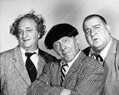 photo The Three Stooges Go Round the World in a Daze Moe Larry Curly Joe The Stooges, The Three Stooges, Jessica Mendoza, Great Comedies, Abbott And Costello, Laurel And Hardy, George Bernard, Bernard Shaw, Old Tv Shows