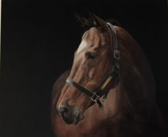 Tony O'Connor Equine Art 'Moscow Flyer' 100cm X 120cm (work in progress) Will be shown at the Irish National Stud exhibition in aid of the Irish Horse Welfare Trust. 9.6.16