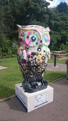 BLODEUWELD OWL The Big Hoot 2015 Birmingham. raised 4,500 pounds at the auction